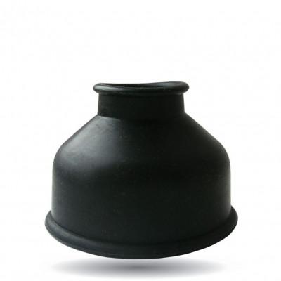 Чёрная уплотнительная насадка для помпы - размер S
