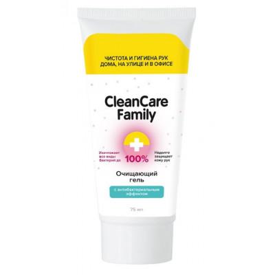 Очищающий гель с антибактериальным эффектом CleanCare Family - 75 мл.