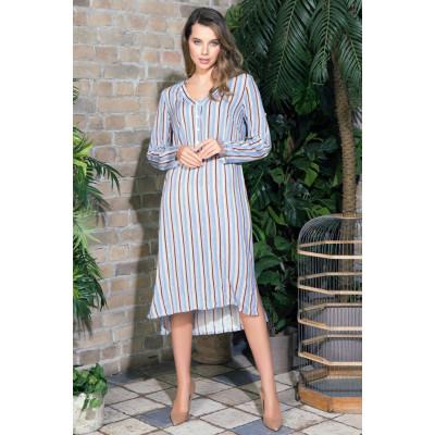 Оригинальное платье-рубашка Noemi с длинным рукавом